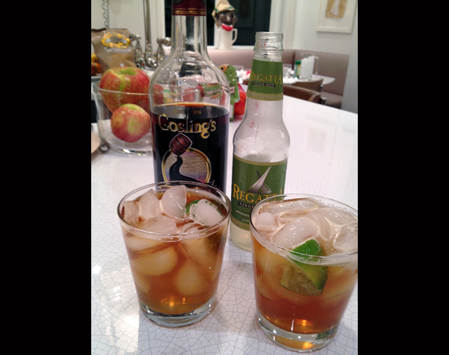 Make a Dark and Stormy this weekend. (Credit: Sheri Clarry)